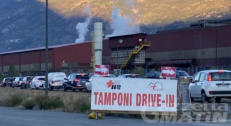 Aosta: tamponi gratuiti per chi, dopo la prima dose di vaccino, aspetta l'attivazione del Green Pass