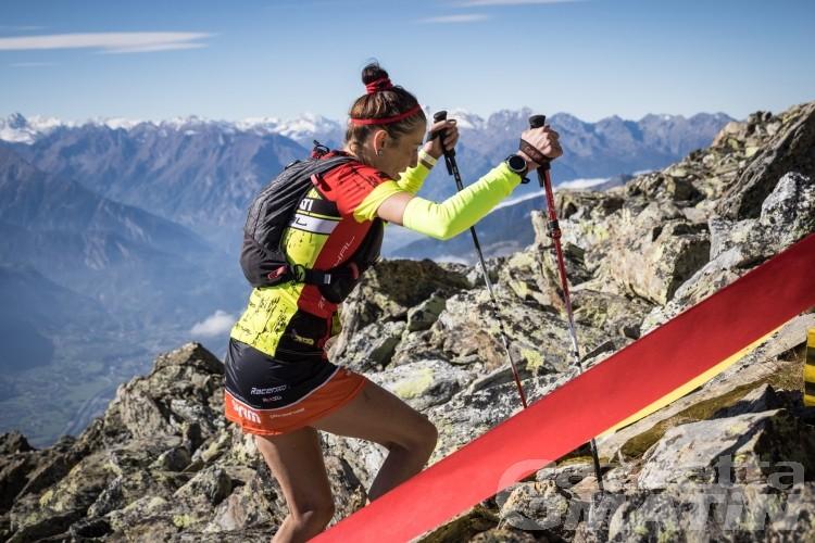 Vertical del Mont Mary, vincono Cristian Minoggio e Fabiola Conti