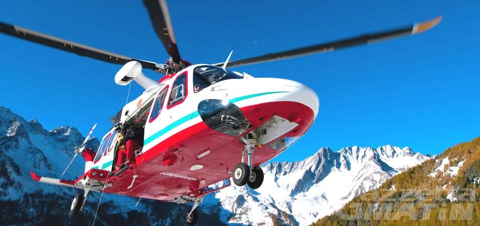 Monte Rosa, alpinista cade in un crepaccio: tratta in salvo