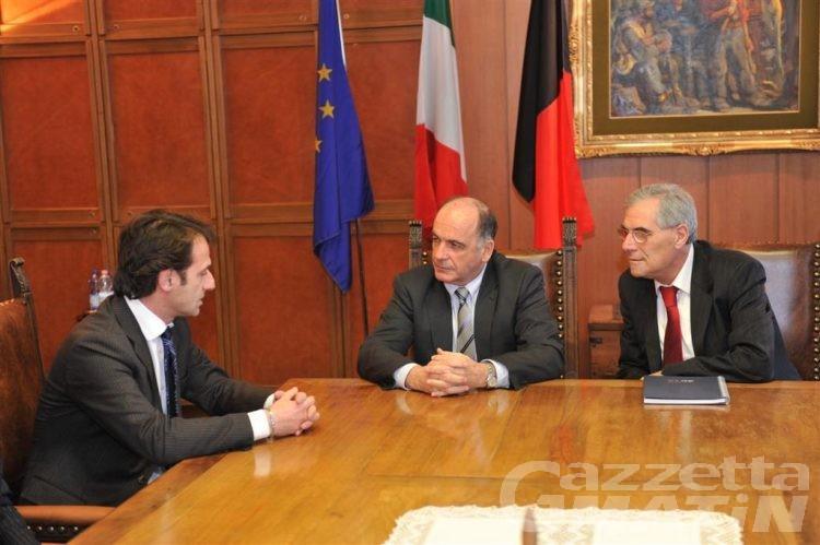 Incontro tra la Regione e i nuovi vertici di Poste italiane