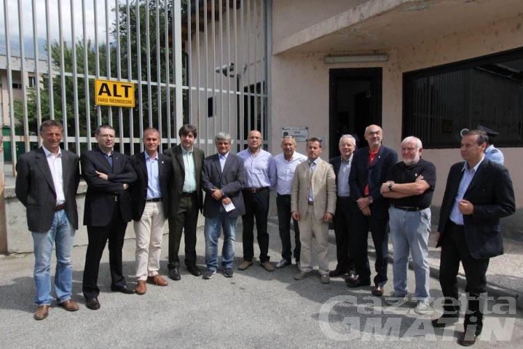 Delegazione del Consiglio regionale in visita in carcere