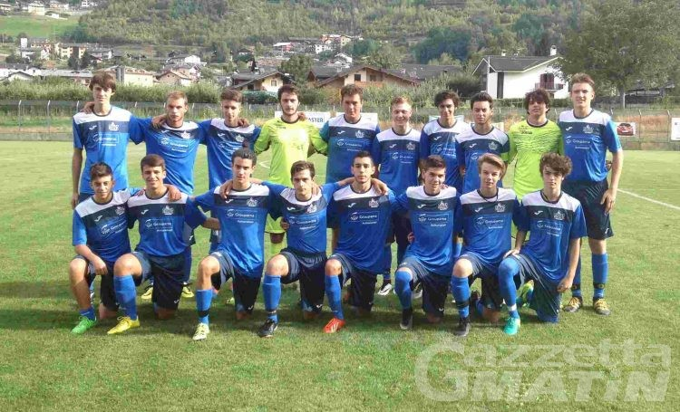 Calcio giovanile: qualificata la Juniores del Grand Paradis
