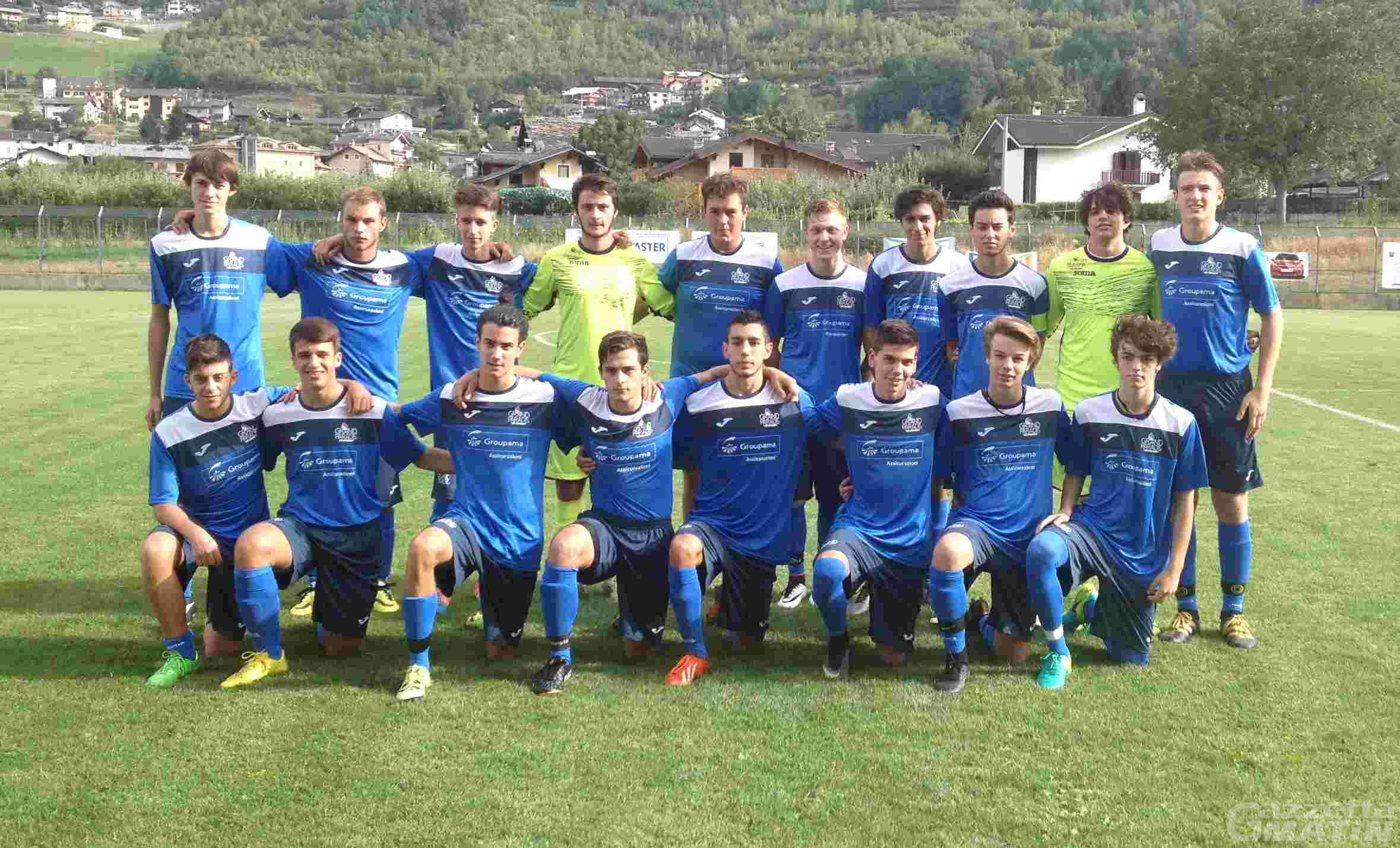 Calcio giovanile: qualificata la Juniores del Grand Paradis