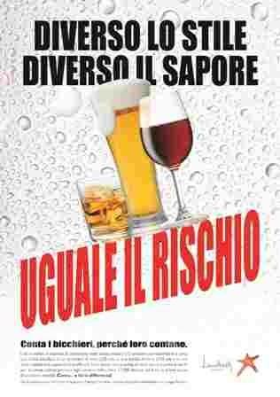 Donne e alcool: binomio sempre più stretto; il 6% beve in modo compulsivo