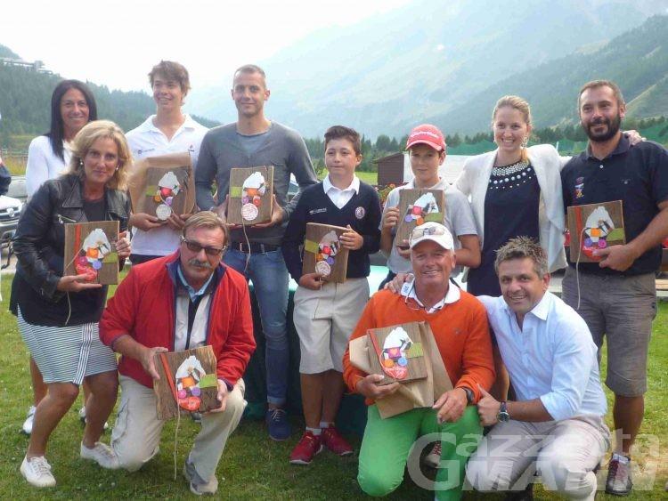 Golf: a Cervinia vincono Maquignaz e Munafò