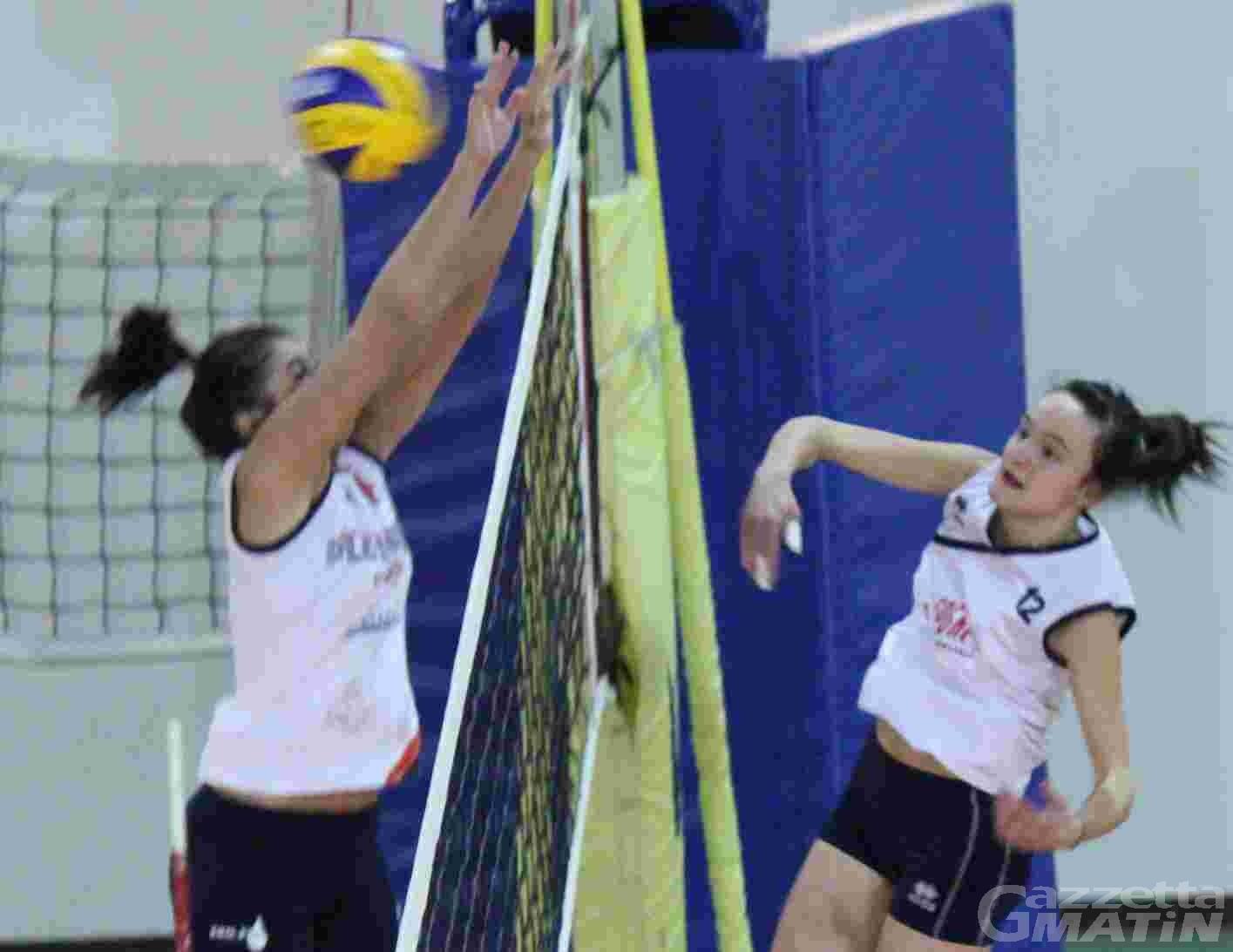 Volley: doppia sconfitta per la Cogne, sorride il CSI
