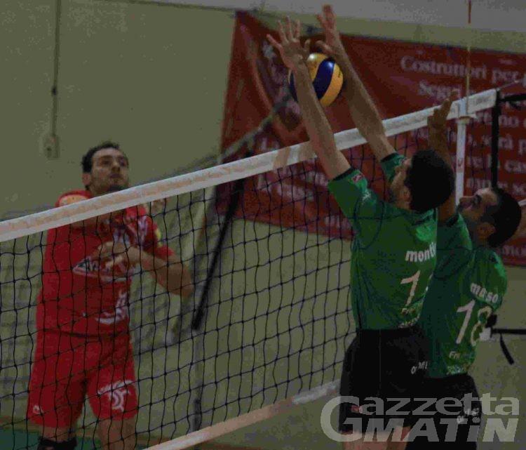 Volley: week end da incubo per Bruno Tex e Cogne