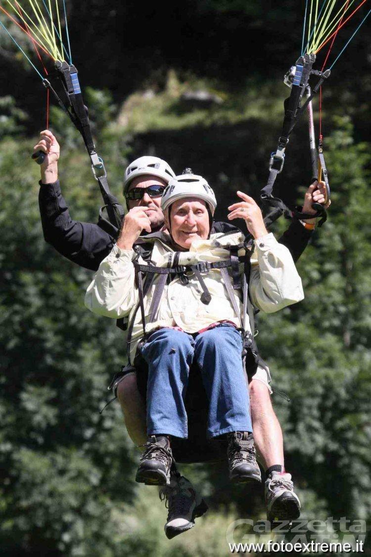 Antey-St-André: dalla Scozia per volare in parapendio