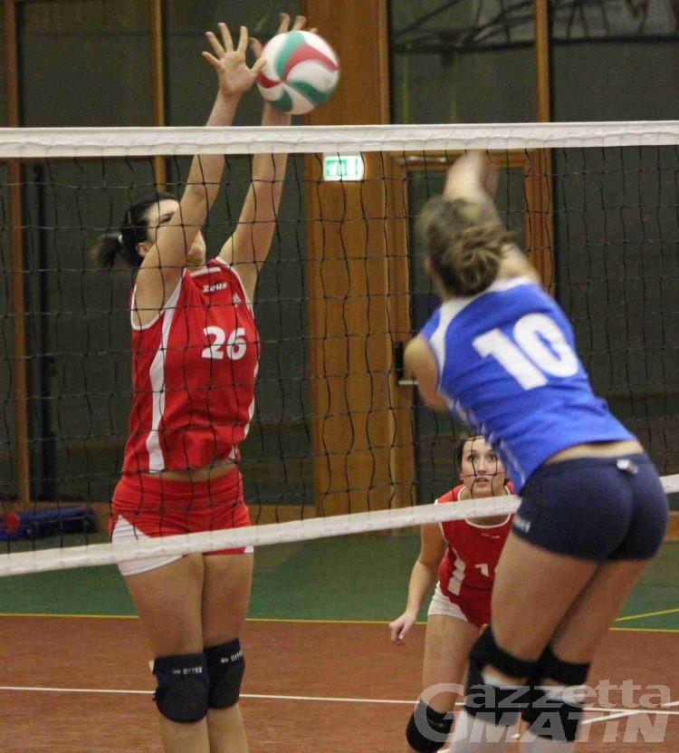 Volley: il CSI Châtillon vince il derby di serie D