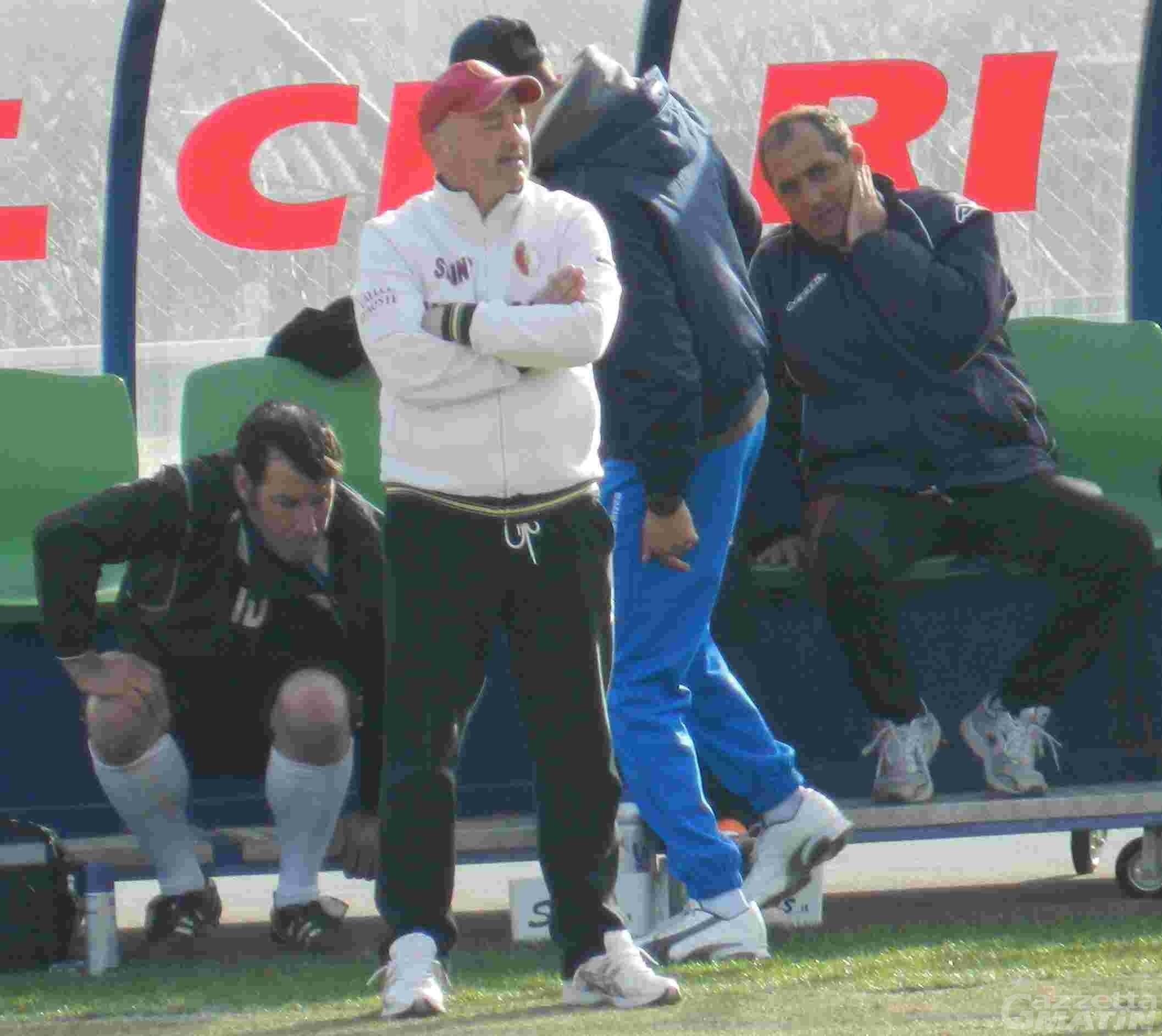 Calcio: stop a Zichella, niente Caratese per il mister