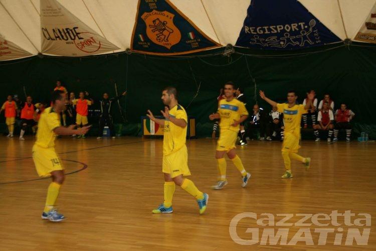 Calcio a 5: il derby è dell'Aosta