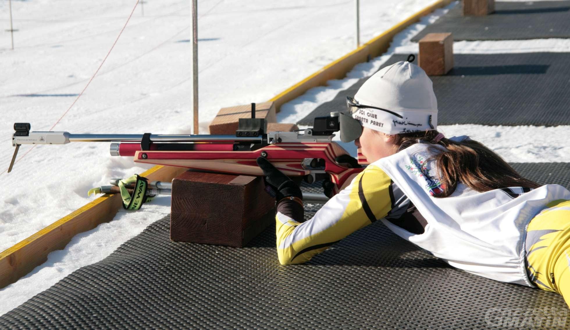 Biathlon: Martina Zappa campionessa d'Italia a Bionaz