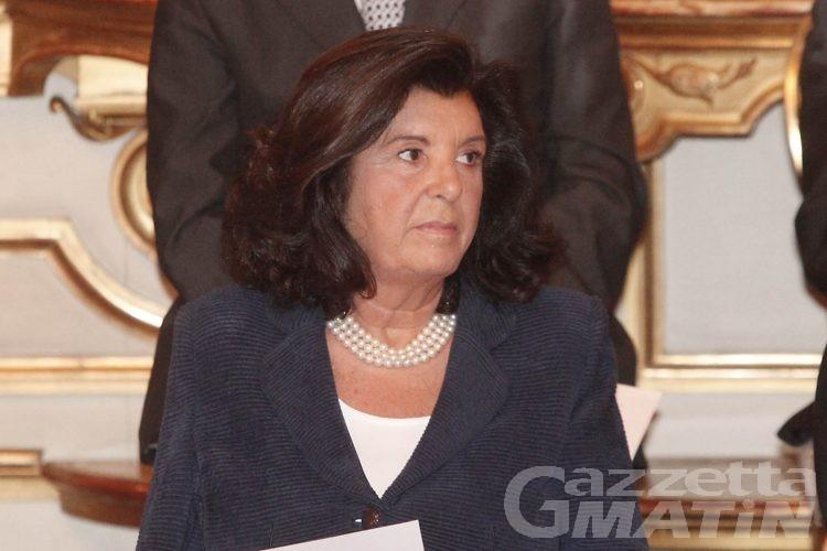 Il ministro della Giustizia, Paola Severino, a Courmayeur