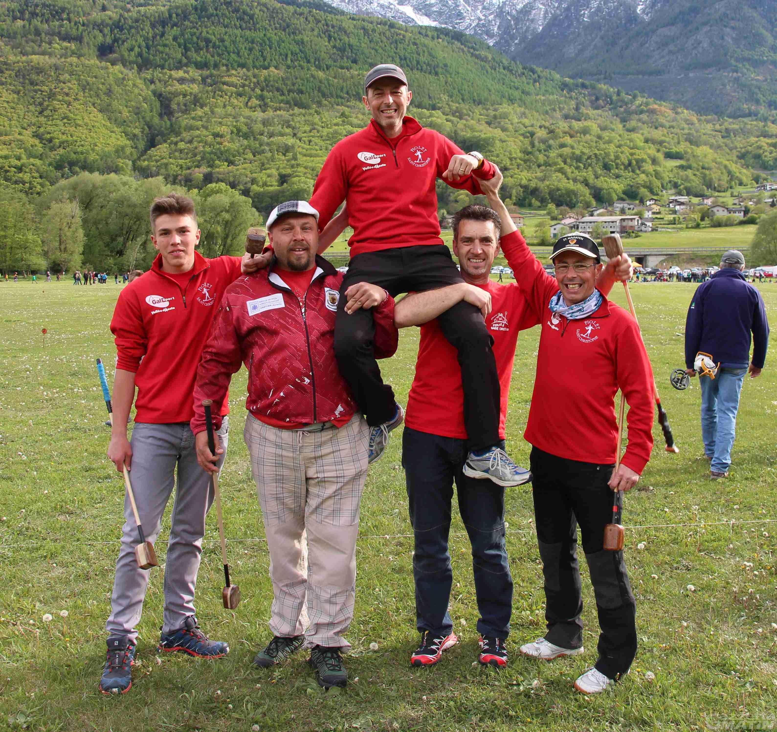 Fiolet: Ezio Marguerettaz vince il Baton d'Or