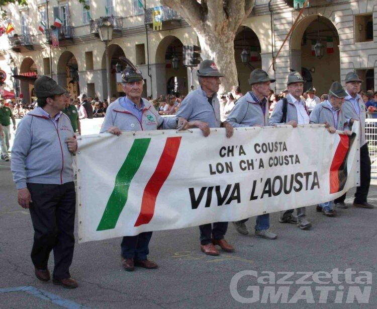 Aosta: omaggio agli Alpini morti durante il Covid nel giorno del Patrono San Maurizio