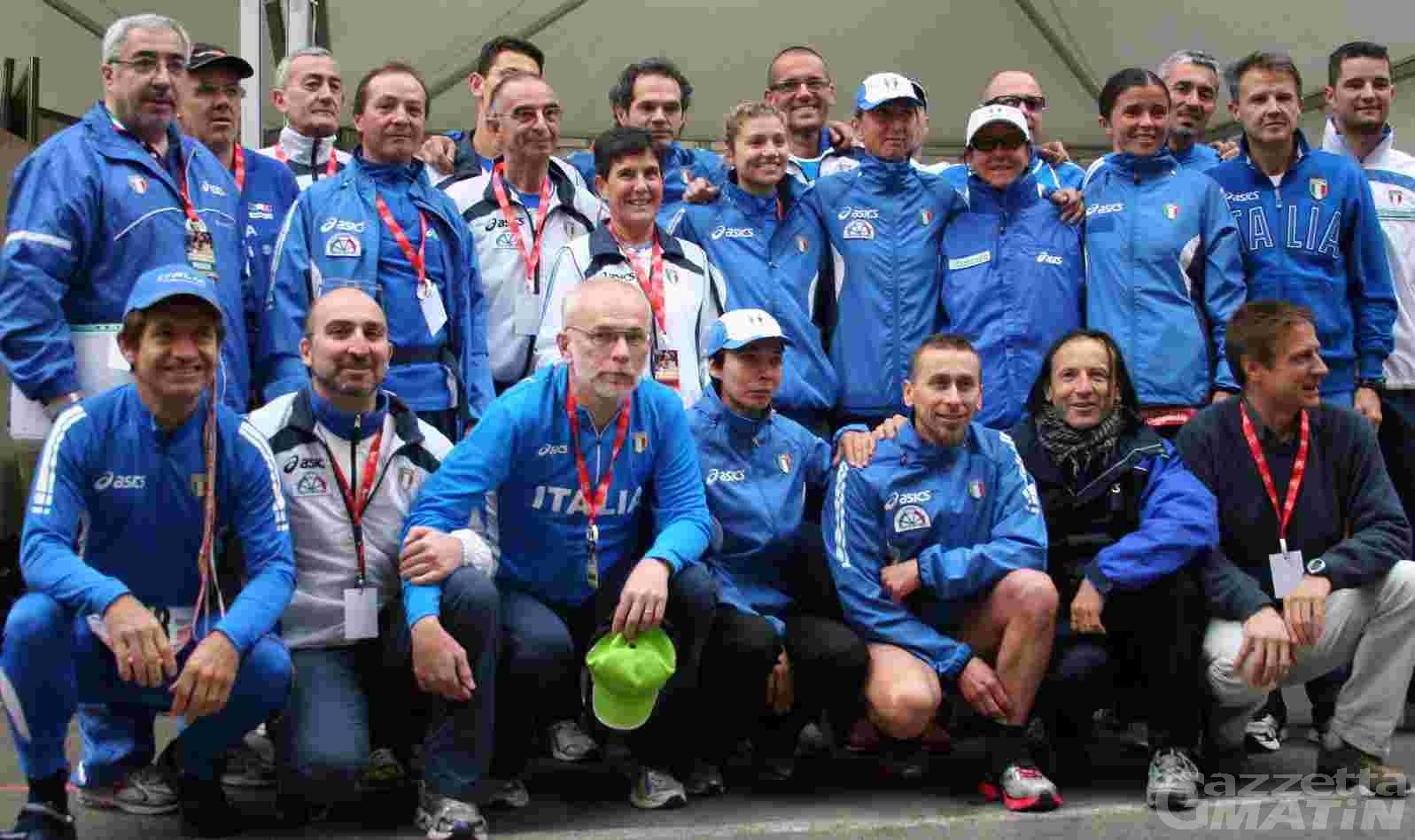 Ultramaratona: gli azzurri in ritiro in Valle d'Aosta