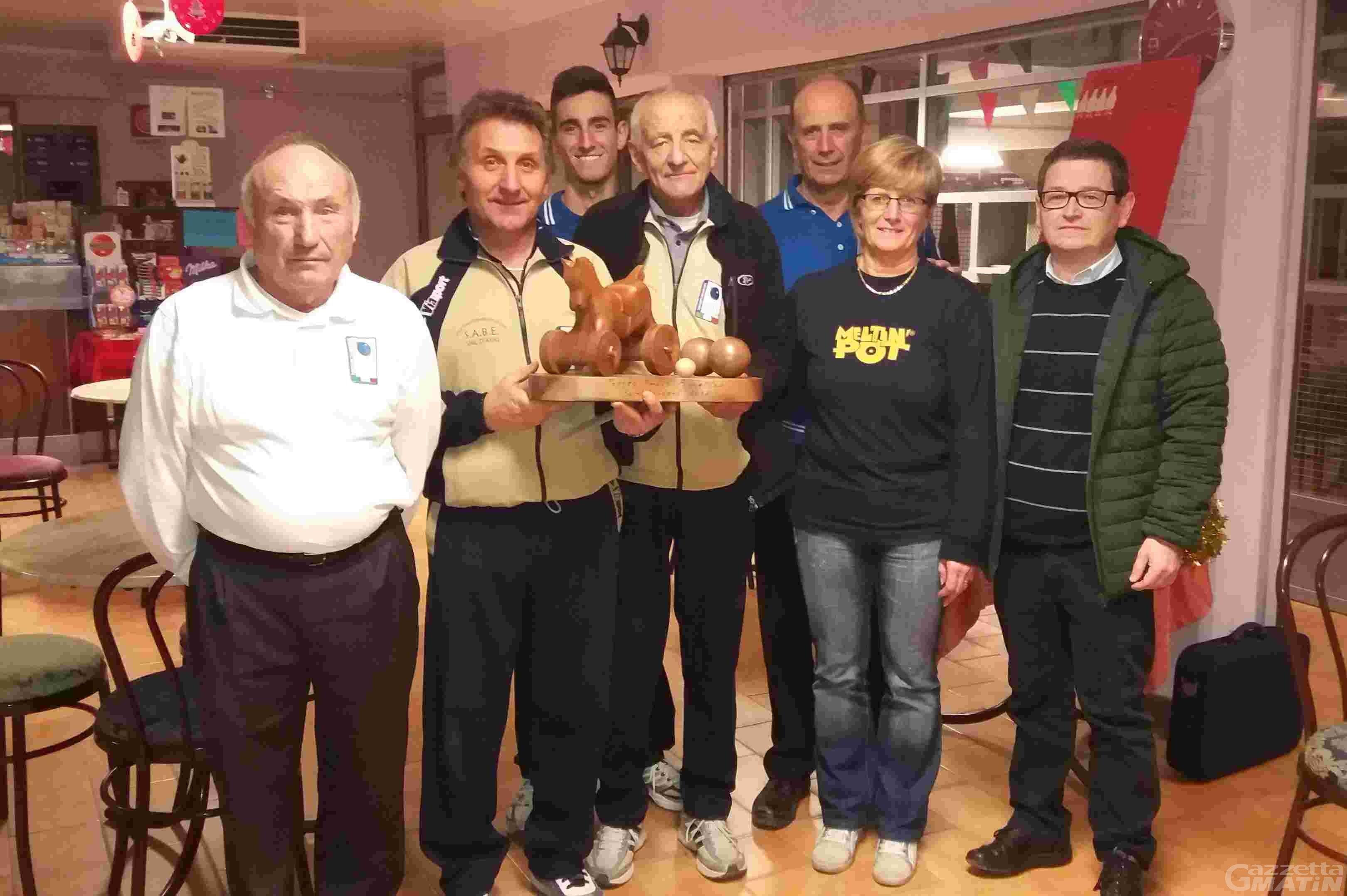 Bocce: Merlet e Favre vincono il Trofeo Borettaz