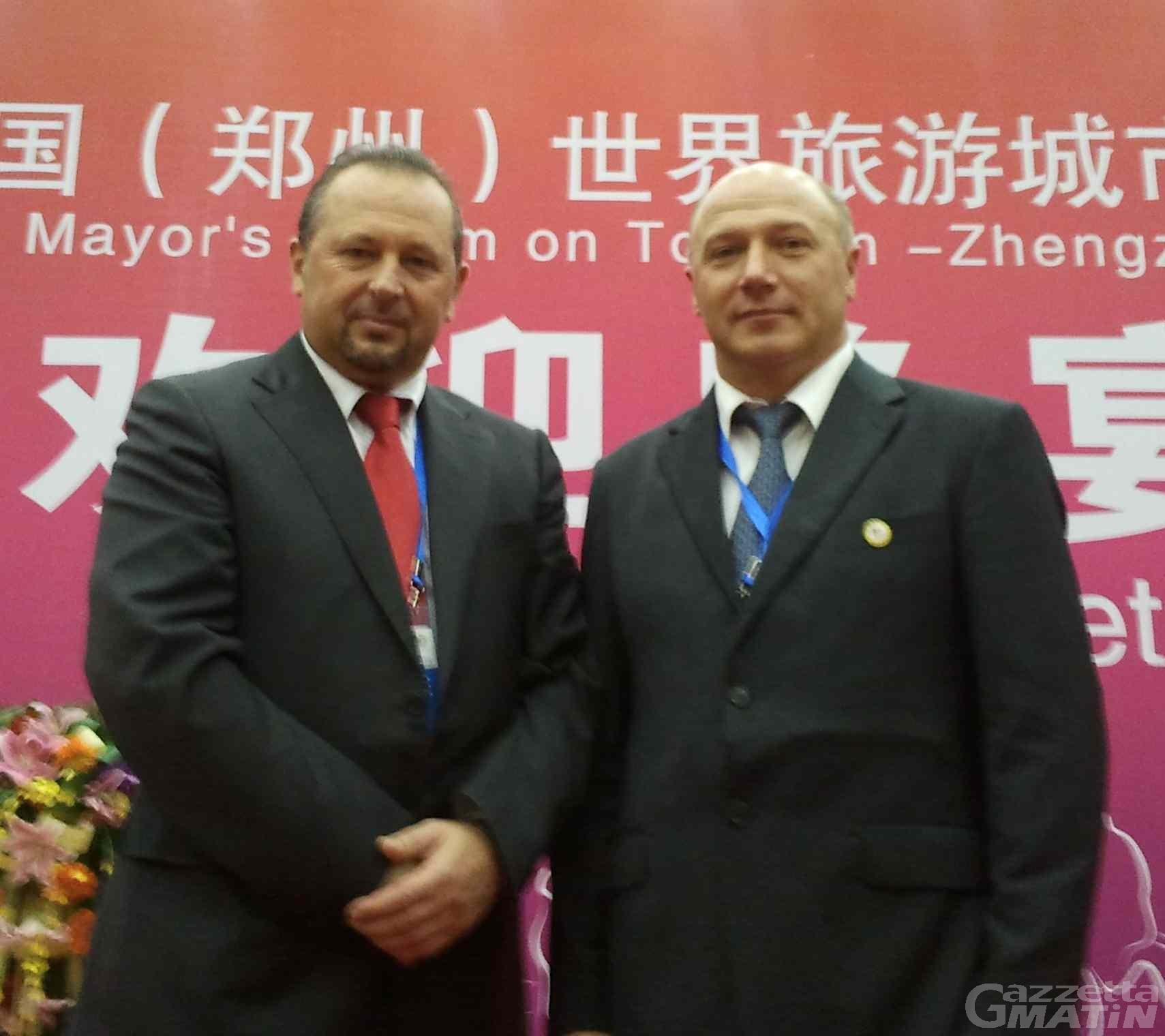Verrès e Pont-St-Martin guardano alla Cina