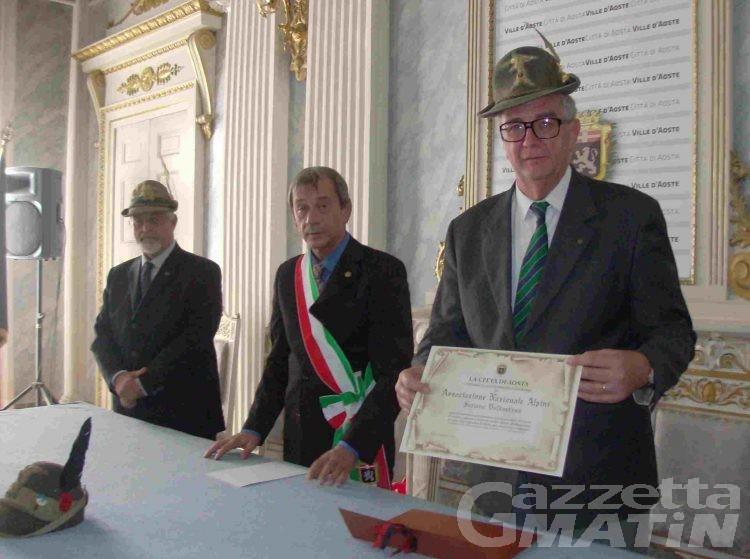 Alpini: Penne Nere cittadini onorari del capoluogo; «Aosta patria degli alpini»