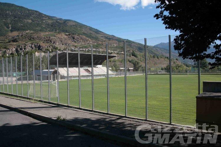 Aymavilles, un'offerta per la gestione del campo da calcio
