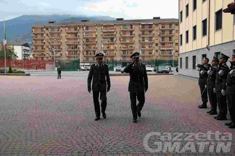 Fiamme Gialle: il comandante interregionale in visita ai reparti valdostani