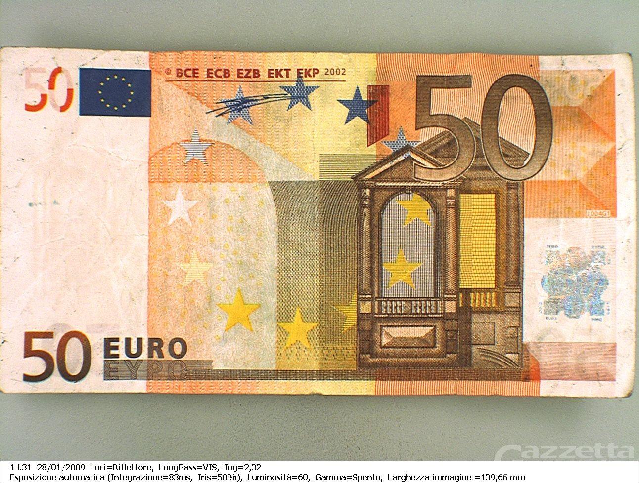Attenzione! Banconote false in circolazione