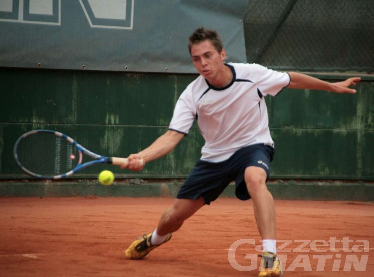 Tennis: Mattieu Viérin trionfa nell'Open di casa