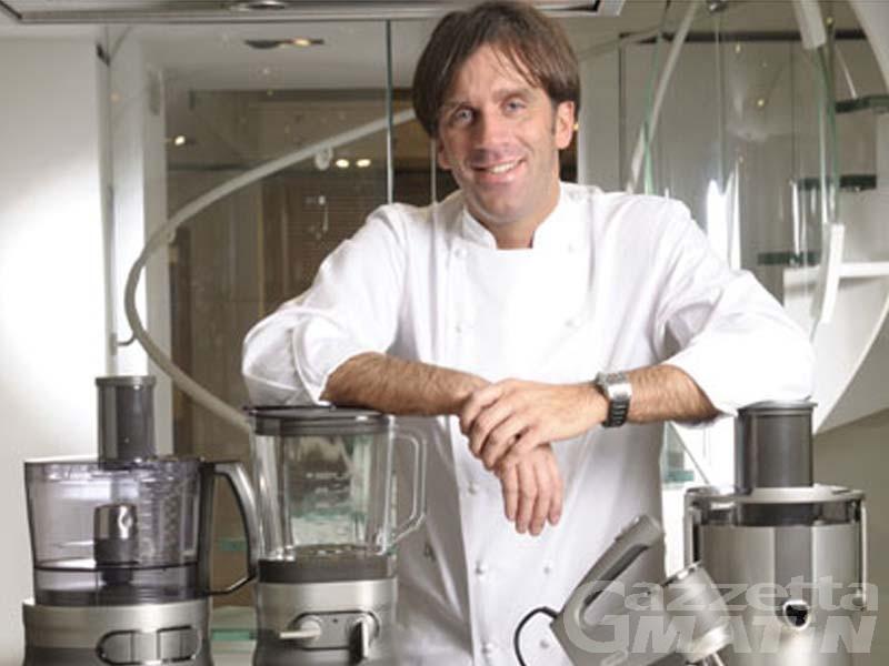 Cucina: Davide Oldani protagonista alle Terme di Pré-St-Didier