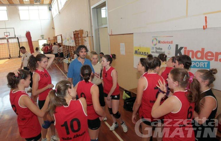 Volley: primo set per la Valle al Trofeo delle Regioni
