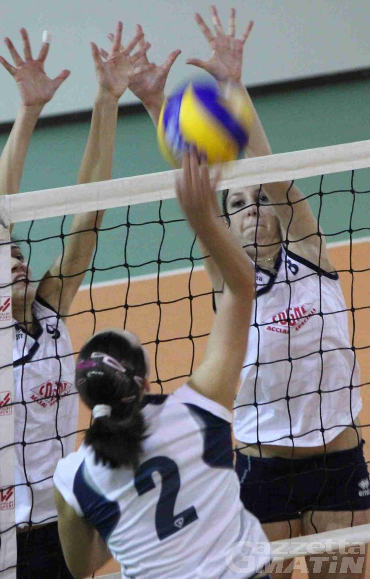 Volley: il Bruno Tex sbanca Susa, la Cogne ko in casa