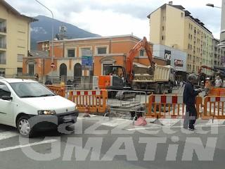 Aosta: un mese di disagi nella zona ovest per lavori teleriscaldamento
