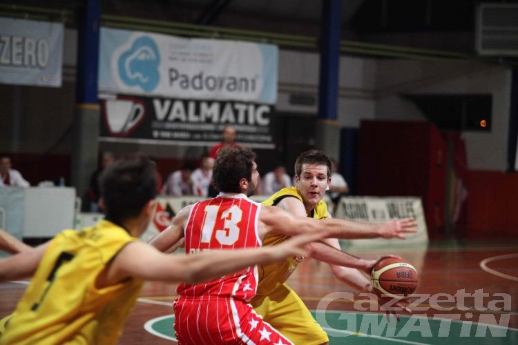 Basket: Valsesia schianta la Moretti Zero