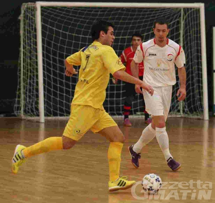 Calcio a 5: l'Asti elimina l'Aosta dai play off U21