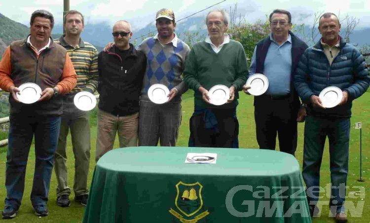 Golf: all'Arsanières si impone Ivan Cottino