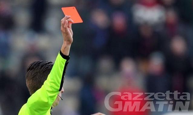 Calcio: mano pesante del giudice sportivo di Aosta