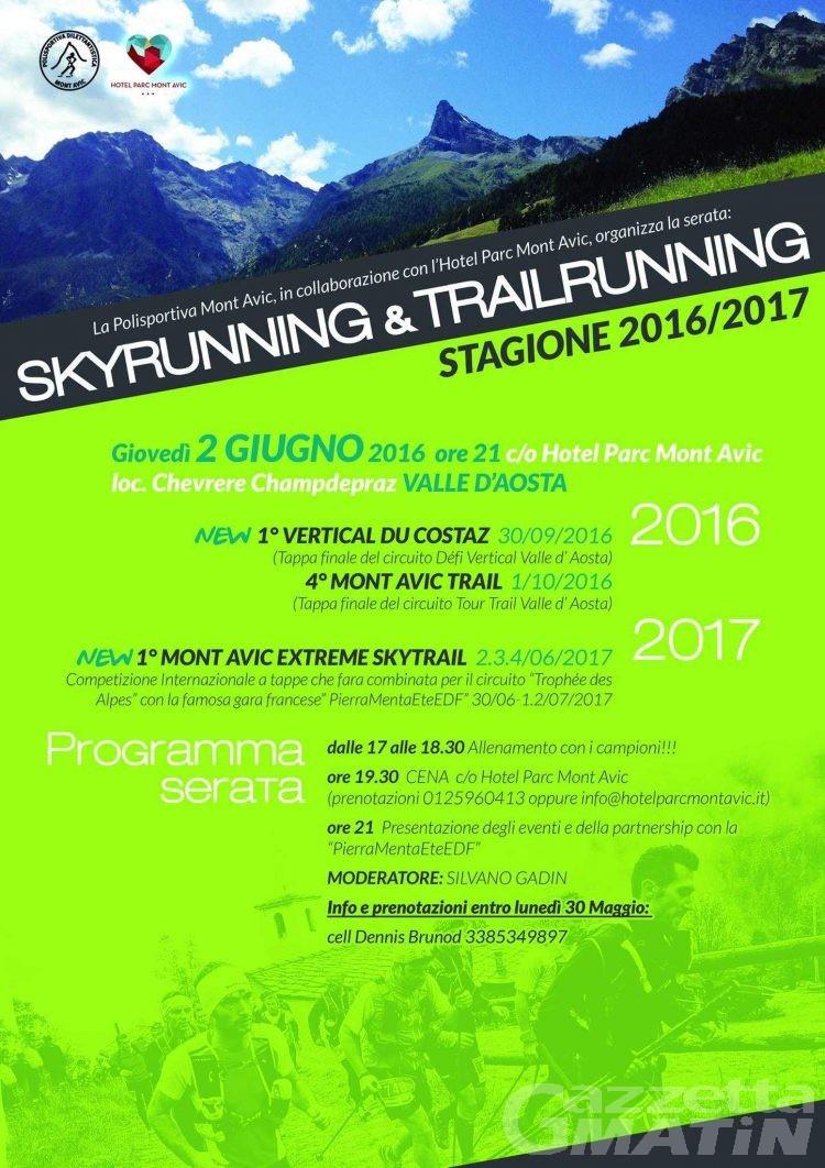 Skytrail e skyrunning: tre gare al Mont Avic
