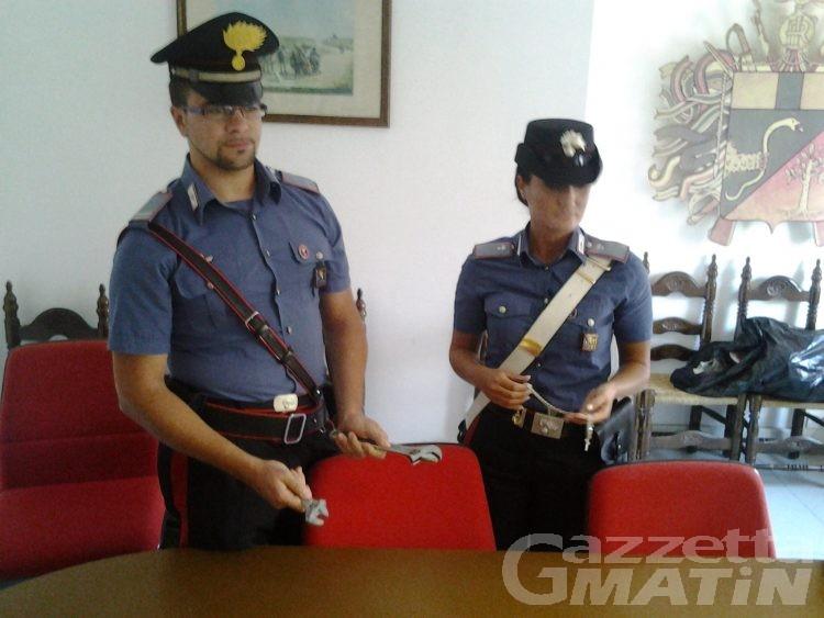 Furti, carabinieri arrestano topo d'appartamento