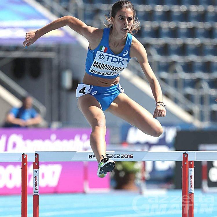Atletica: Eleonora Marchiando al raduno azzurro Under 25