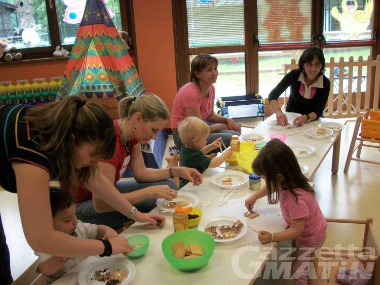 Nonni, genitori e bimbi: un incontro a Morgex