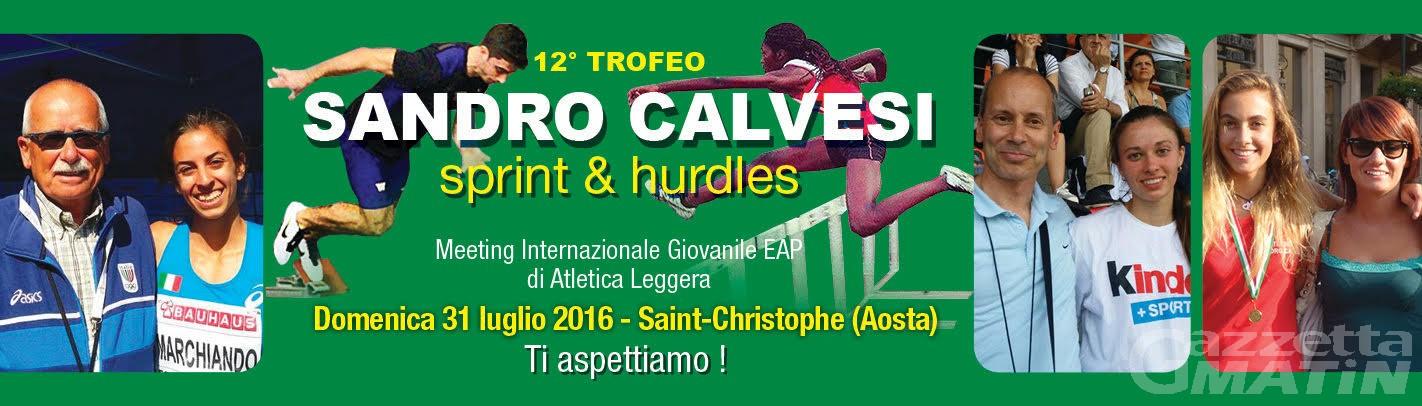 Atletica leggera: domenica il Trofeo Sandro Calvesi