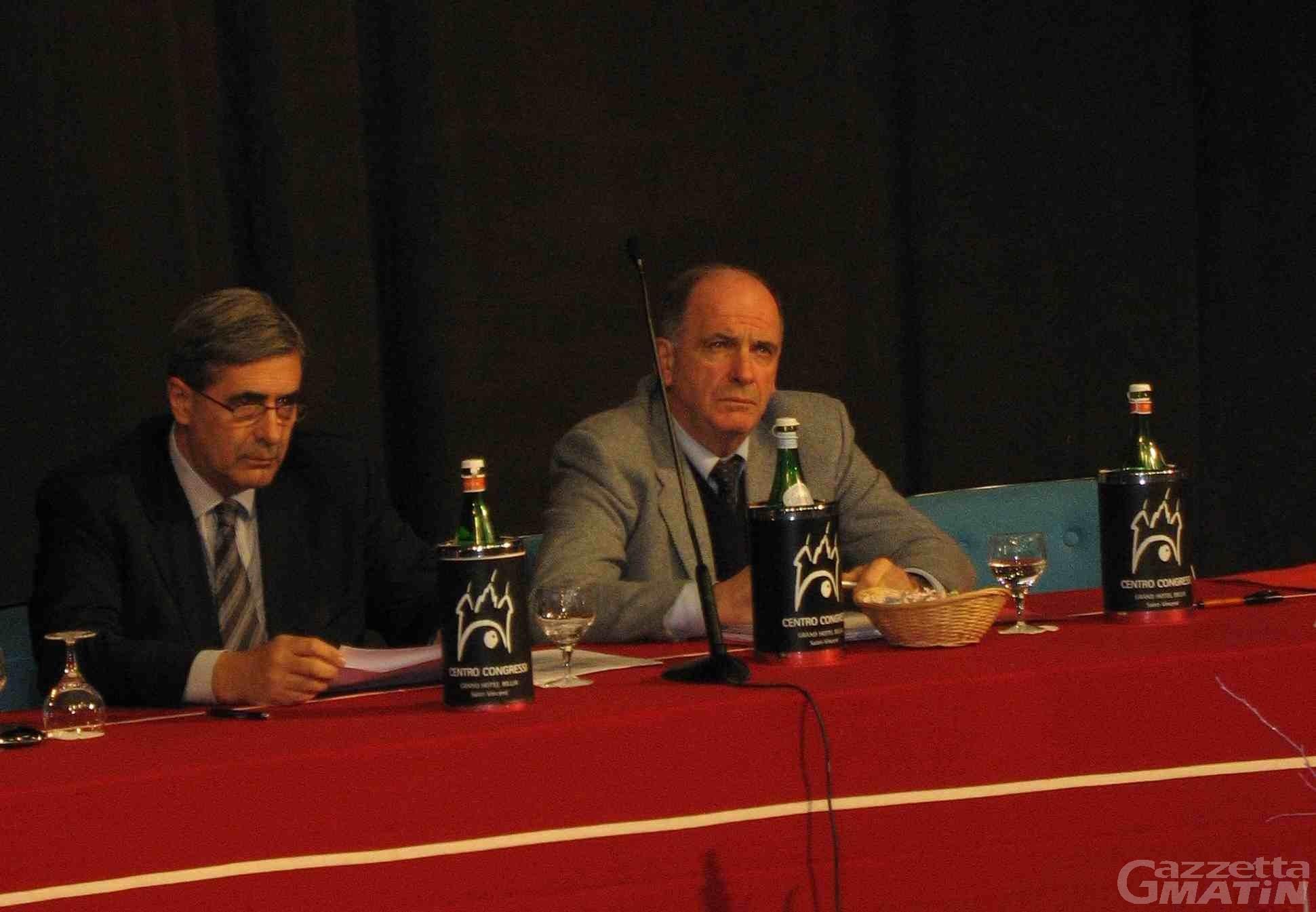 Congresso Uv, Rollandin: «In settimana una risposta alle imprese che aspettano pagamenti arretrati»