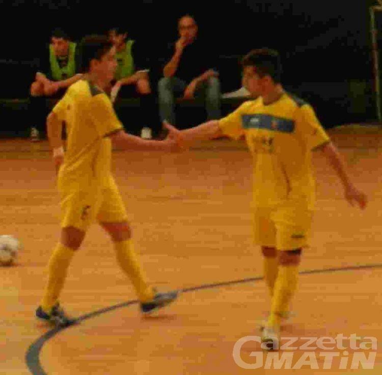 Calcio a 5: l'Aosta sbanca Lecco e va in fuga