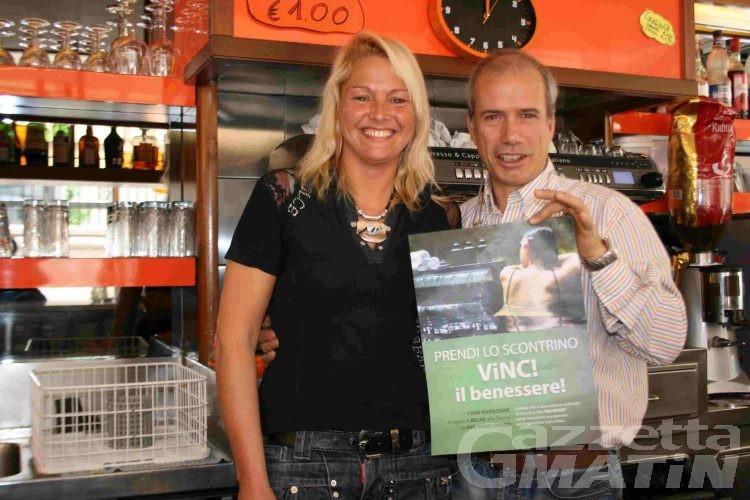 Aosta: al bar si vince il benessere