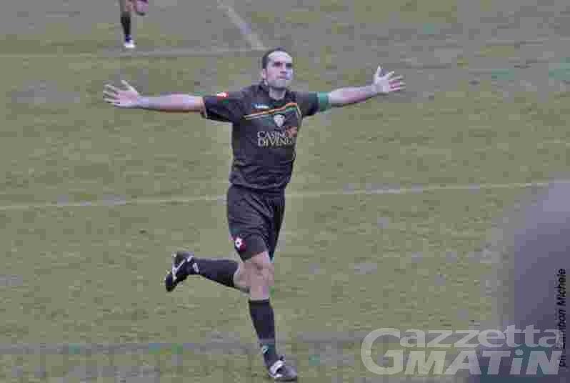 Calcio: Zubin affonda il St-Chri VdA