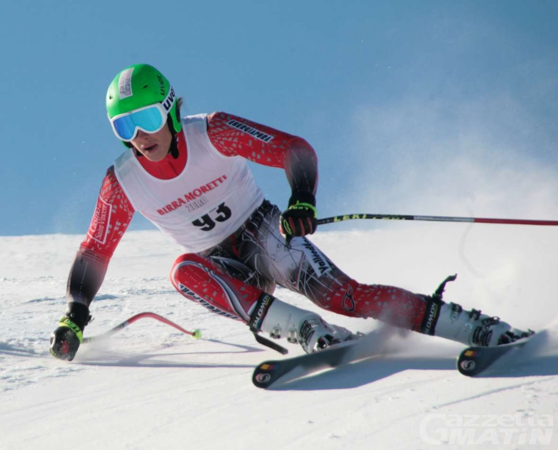 Sci alpino: Bosca 20° nel gigante dei Mondiali Jr