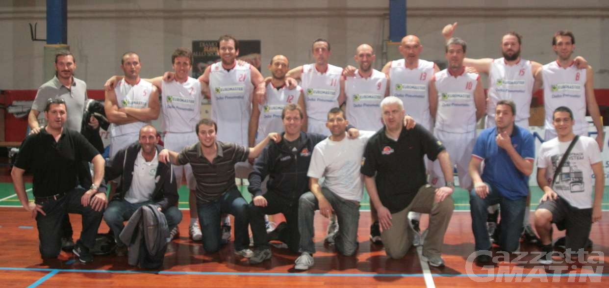 Basket: l'EuroMaster saluta i play off