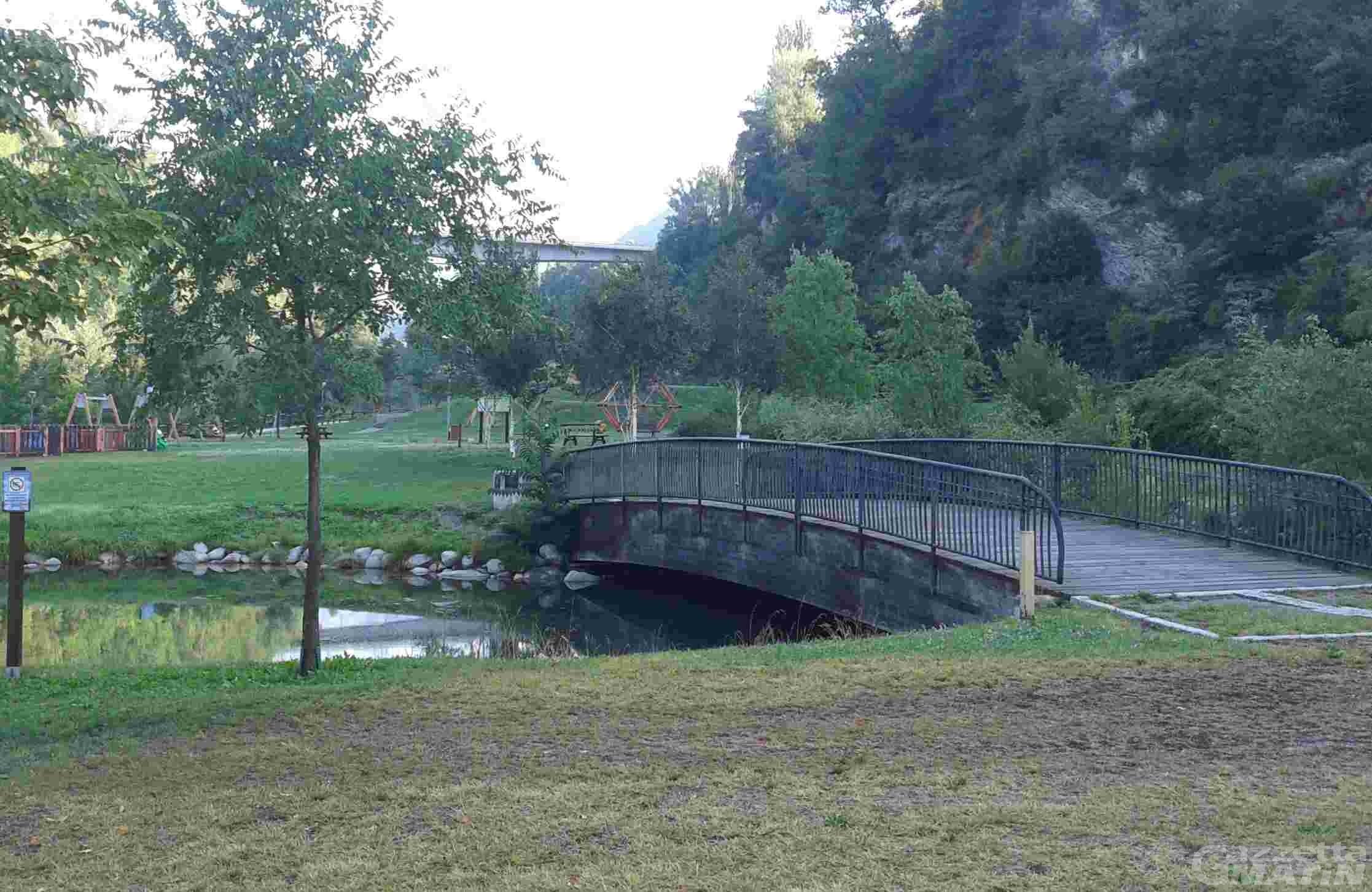 Aosta: Puliamo il tuo parco sbarca al Saumont