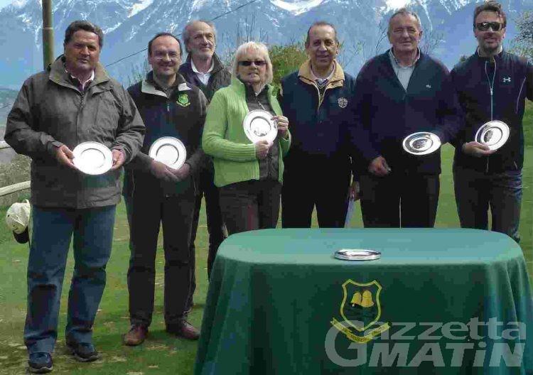 Golf: vincono Marguerettaz e Vilbrant