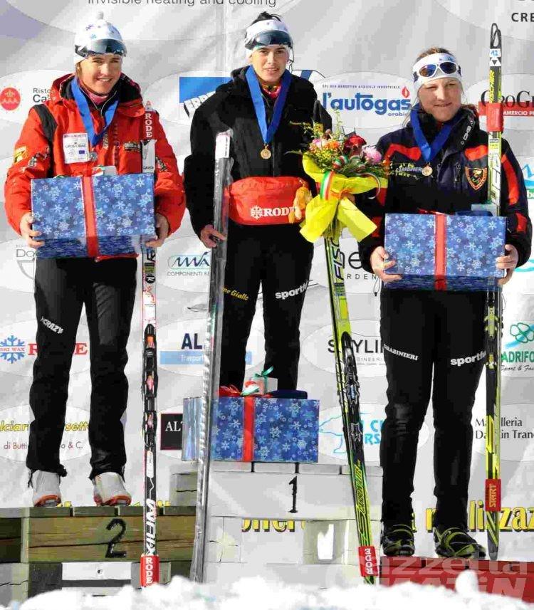Fondo: Francesca Baudin regina tricolore sprint