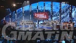 """Capodanno Tv da Courmayeur: 6,4 milioni di telespettatori per """"L'anno che verra'"""""""
